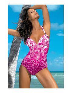 Ženski kupaći kostim Luise Blu Scuro M-267 modra (211)