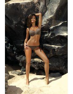 Ženski dvodijelni kupaći kostim Camilla Dark Taupe M-489 (1)