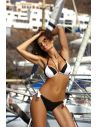 Ženske bikini kopalke Trish Nero-Bianco M-458 (2)
