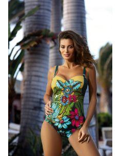 Ženski jednodijelni kupaći kostim Wilma Green M-497 (1)