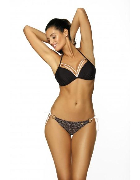 Ženske bikini kopalke Linda Nero M-457 (2)