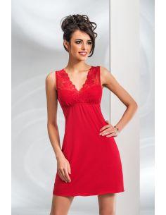 Spalna srajca Kristina rdeča