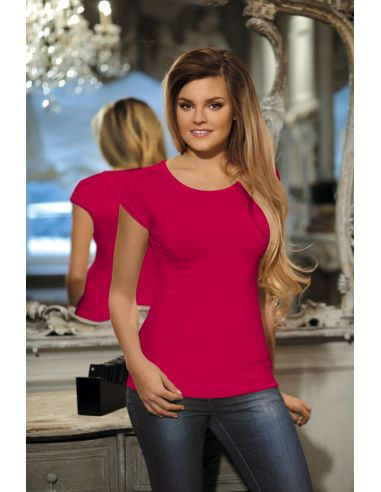 Ženska majica Maxima svetlo rubin
