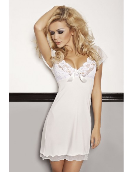Ženska spalna srajčka Irina smetanasta