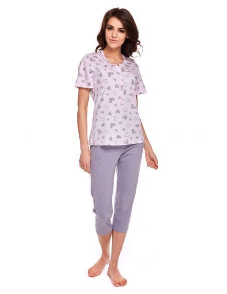 Ženska pižama Kylie 320 kratek rokav