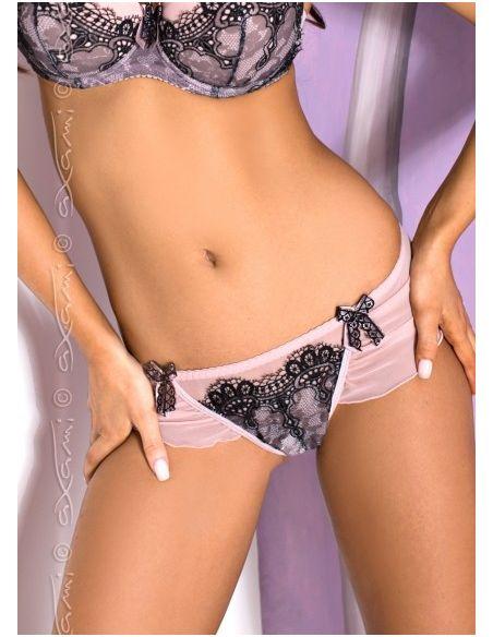 Ženske string hlačke V-5548 Pink Quartz