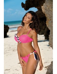 Ženski kupaći kostim Frances Rosa shocking M-529 (4)