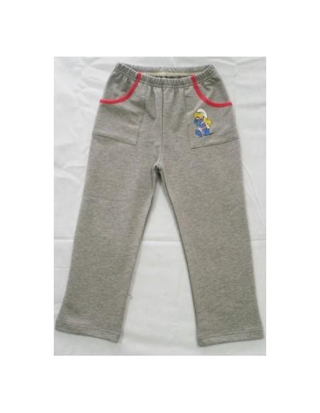 Dekliške hlače - temno vijolična