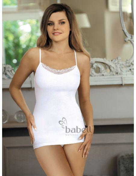 Ženska spalna srajčka Bogna bela