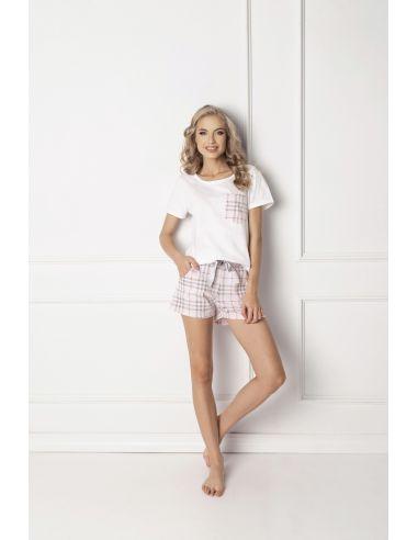 Ženska pižama Londie Short bela