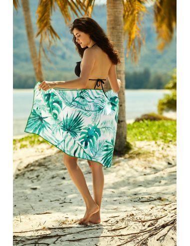 Kopalna brisača plażowy Ferry 70x140cm 38130-76X bela-zelena