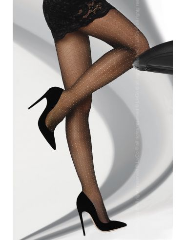 Hlačne nogavice Nettie 20 DEN črna