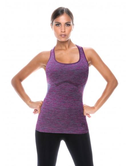 Ženska sportska majica bez rukava SPACE3 DONNA ACTIVE-FIT
