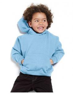 Otroški pulover s kapuco