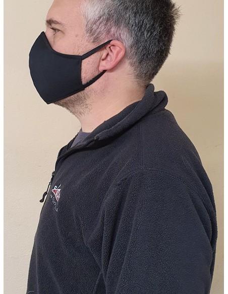 Maska iz blaga pralna 2 slojna