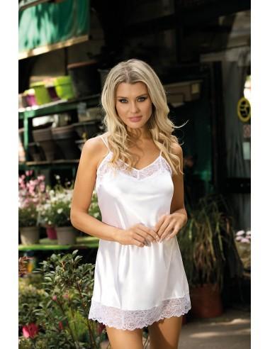 Ženska spalna srajčka Milan bela