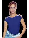 Ženska majica Daria New temno modra