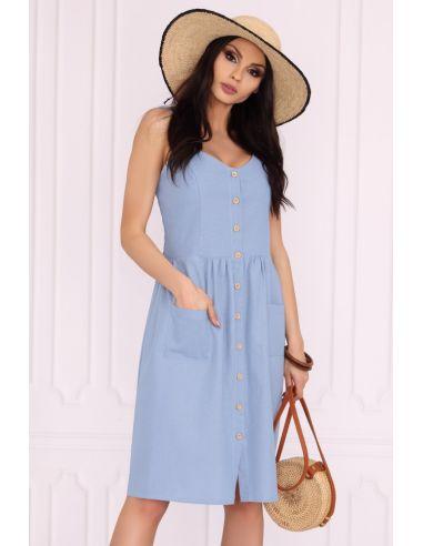 Ženska obleka Akminas Blue