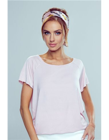 Ženska majica Ilza-svetlo roza