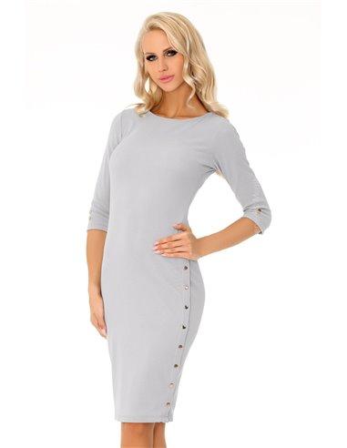 Ženska obleka Aeroma Grey