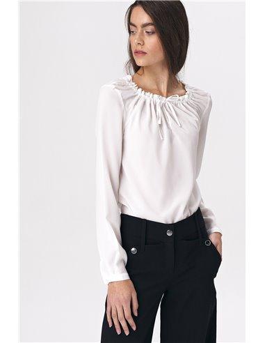 Ženska bela bluza B114