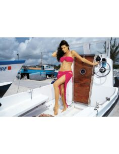 Ženski kupaći kostim Shakira T M-132 -95- roza