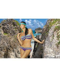 Ženski kupaći kostim Shakira GP M-142 -142-vijola-plava
