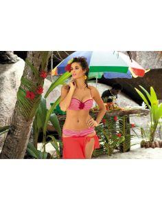 Ženski kupaći kostim Betty M-179 koralna -20-