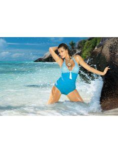 Ženski kupaći kostim Caroline M-175 plava -71-