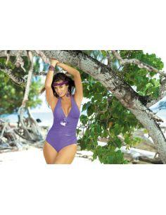 Ženski kupaći kostim Martina M-178 svetlo vijolična -157-