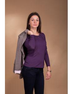 Majica Yasmine 3028 borovničeva