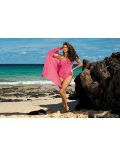 Ženski kupaći kostim Melanie Popstar M-203 malina -62-
