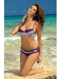 Ženski kupaći kostim Brooke Mora M-225 vijolična -15-
