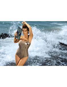 Ženski kupaći kostim Shila Planet M-202 Kaki -190-