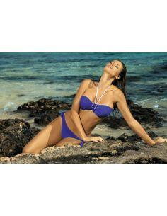 Ženski kupaći kostim Emily Oltremare M-217 Niebieski -143-