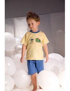 Dječja pidžama Samuel 2973 žuto-plava