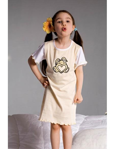 Otroška pižama Ami 2981 rumena