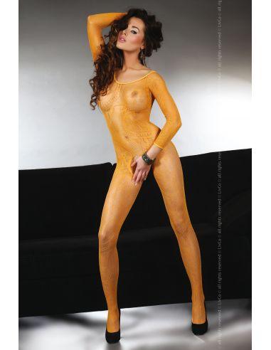 Bodystocking Abra oranžen