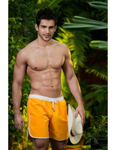 Moški kupaći kostim Comfo rumena