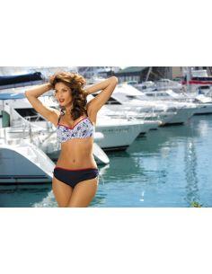 Ženski kupaći kostim Valeria M-220 A modre -145-