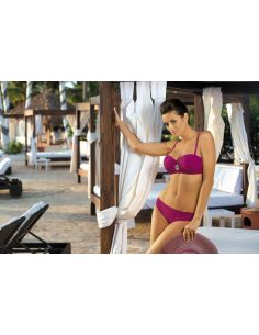 Ženski kupaći kostim Edith Cardinale M-255 bordo (106)