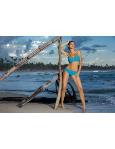 Ženski kupaći kostim Edith Holiday M-255 svetlo modra (111)