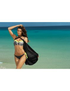 Ženski kupaći kostim Melissa Titanium + Twetty M-288 (196)