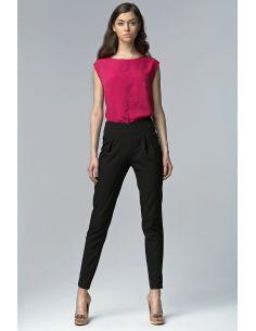 Ženske hlače z visokim pasom SP17