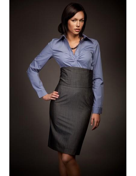 Ženska suknja s visokim strukom SP02