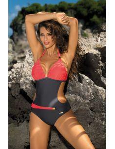 Ženski kupaći kostim Beatrix Titanium-Granatina M-337 (2)