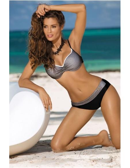 Ženski kupaći kostim Nadia Nero-Bianco M-374 (3)