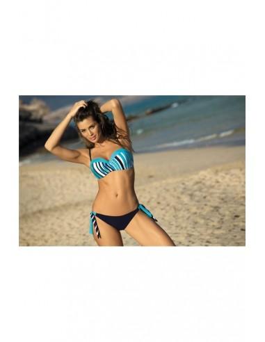 Ženski kupaći kostim Melissa Bluebery + Baia M-288 (196)