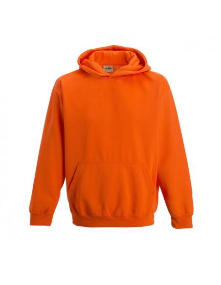 Otroški pulover s kapuco v flourescentnih barvah JH004J