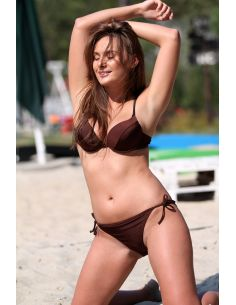 Ženski kupaći kostim Jenna M-048B Brown Pearl